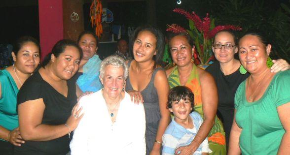 Anna Pollock, Polynesian Xplorer, Samoa,