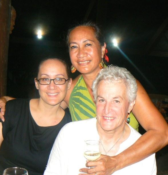 Zita Martel, Nanise Tolovae, Anna Pollock, Polynesian Xplorer, Samoa